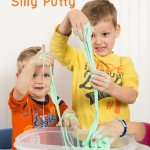 Homemade Silly Putty and Science Saturday Blog Hop