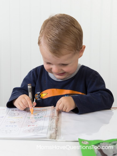 Pumpkin Learning Notebook - Moms Have Questions Too