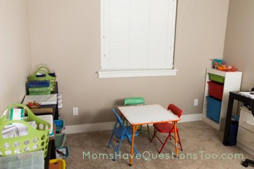School Room Setup - Moms Have Questions Too