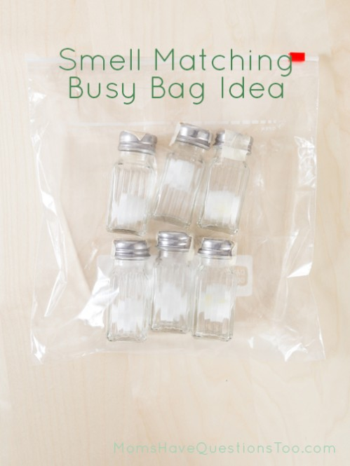 Smell Matching Busy Bag Tutorial - Moms Have Questions Too