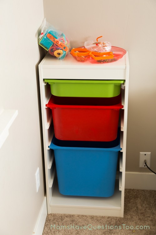 Storage Space in School Room - Moms Have Questions Too