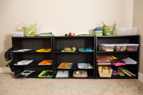 Tot Trays and School Supplies - Moms Have Questions Too