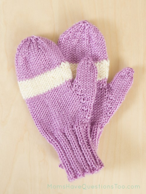 Free Knitting Patterns For Childrens Mittens : Christmas Knitting Ideas 2013