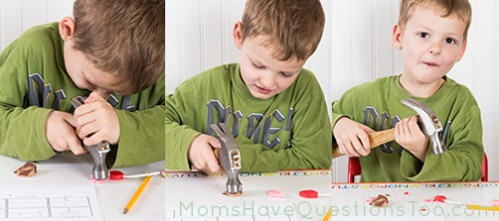 Hammering Candy Experiment - Moms Have Questions Too