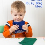 Marble Maze Busy Bag Idea