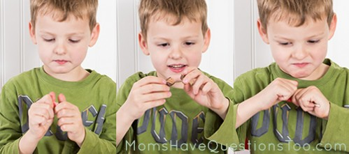 Pulling Candy Experiment - Moms Have Questions Too