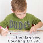 Thanksgiving Preschool Activity and Printable