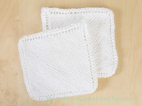 Cable Stitches Knitting Pattern : BABY WASHCLOTH KNITTING PATTERNS FREE - VERY SIMPLE FREE KNITTING PATTERNS