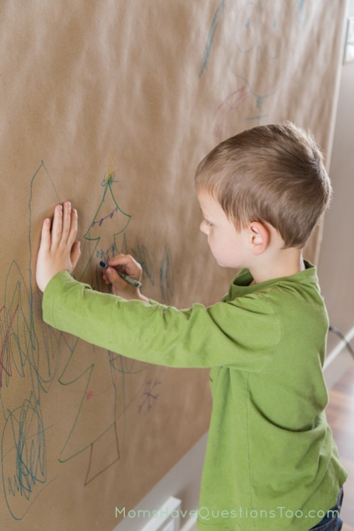 Christmas Home Decorations - Wall Murals by Your Kids - Moms Have Questions Too