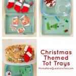Christmas Tot Trays