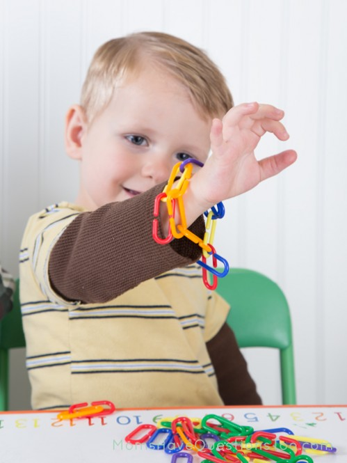 Math links bracelet - Moms Have Questions Too