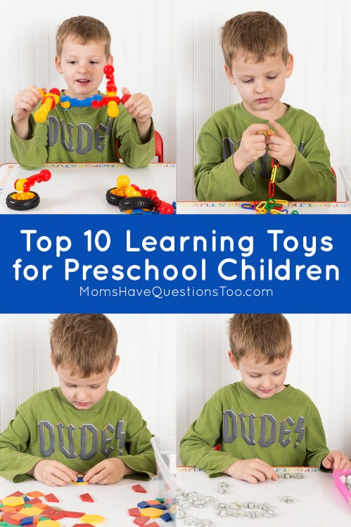 Top 10 Learning Toys for Preschool Children - Moms Have Questions Too