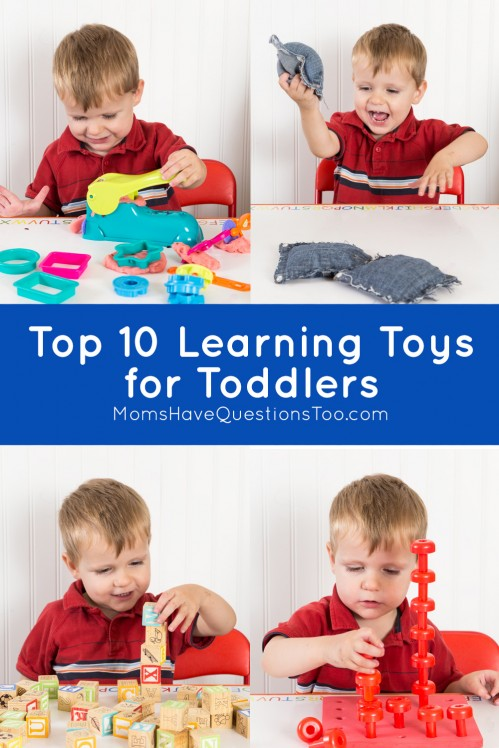 Top 10 Learning Toys for Toddlers - Moms Have Questions Too