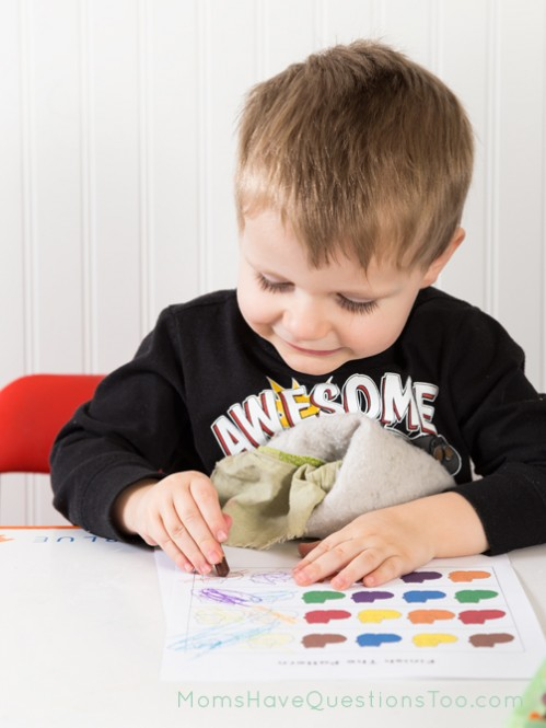 Coloring pages to help practice patterns - Moms Have Questions Too
