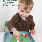 Toddler Curriculum Letter A: A is for apples