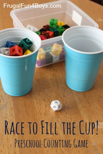 Race to Fill the Cup Game