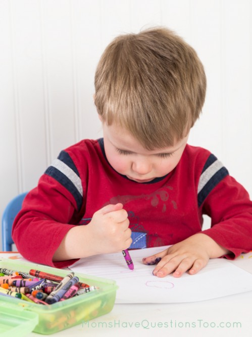 Write a letter activity for toddler - Moms Have Questions Too