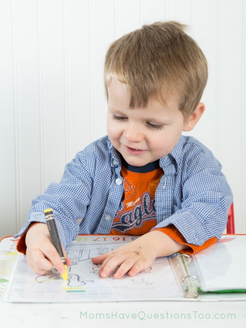 F is for Farm Learning Notebook - Moms Have Questions Too