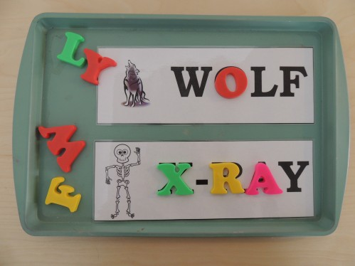 Use magnetic letters with these magnetic letter match printables. Free printables for every letter of the alphabet.