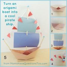 Pirate Ship Craft