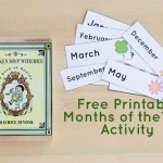 Preschool Calendar and Book Activity