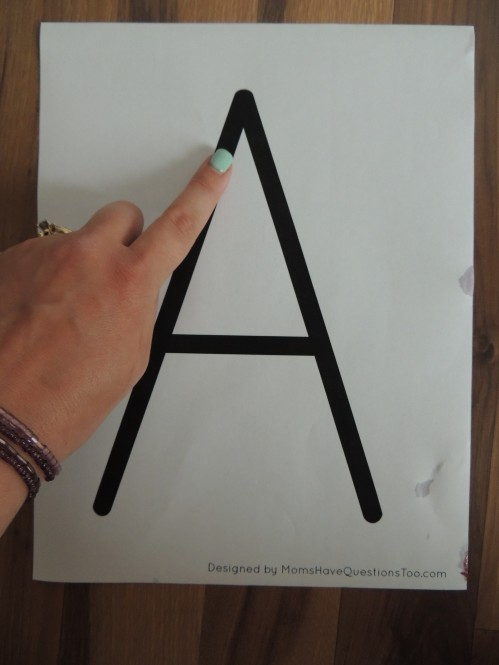 Use these preschool alphabet printables for letter tracing and more!
