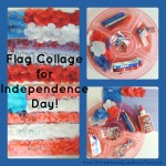 Flag Collage for Independence Day