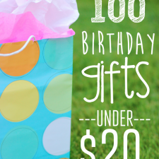 Inexpensive Birthday Gift Ideas for Kids