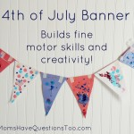 Easy Kids Craft for the 4th of July