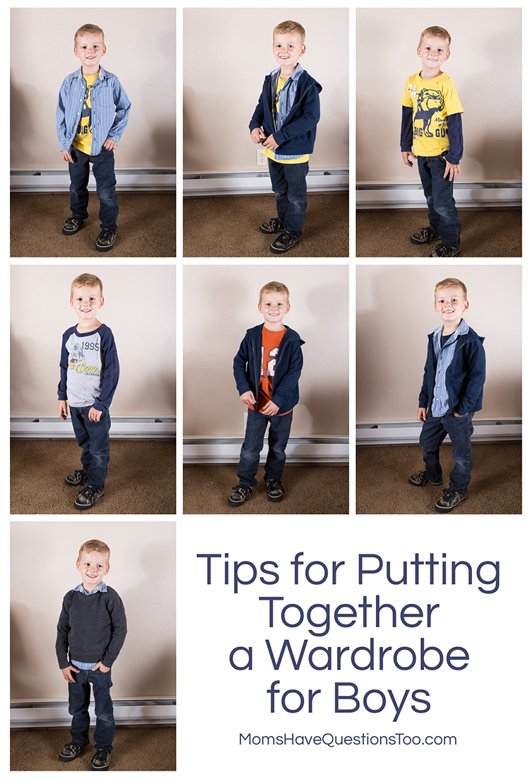 Put Together Toys For Boys : Back to school clothes wardrobe tips