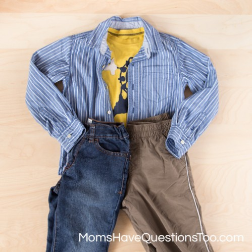 Pants can completely change an outfit - Moms Have Questions Too