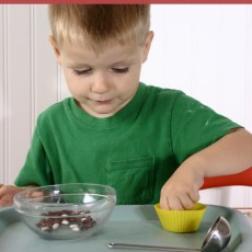 Toddler School K is for Kitchen Unit