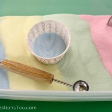 Use DIY Colored Salt Instead of Craft Sand