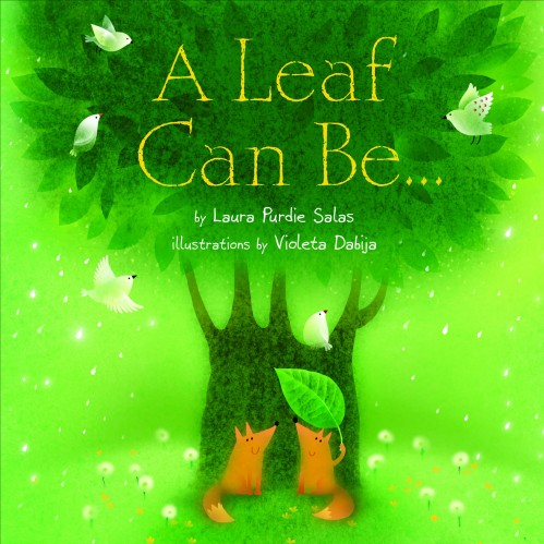 A Leaf Can Be... Great book for an unit on the letter L. Check out all the other fun toddler activities for the letter L.