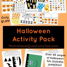 Halloween Activity Pack Extraordinaire