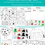 Cut and Paste Preschool Activity Pack